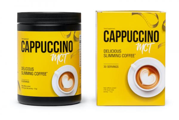 Suplement diety cappuccino mct