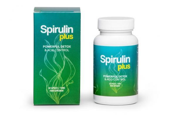 spirulin plus detox organizmu